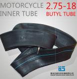 Motorrad-Naturkautschuk-inneres Gefäß-Motorrad-Gefäß 2.75-18