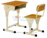 教室の家具学生の単一の固定机椅子