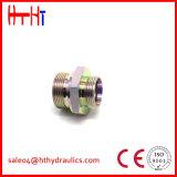 macho de 1cg9-Og/1dg9-Og Metirc 24 selos ajustáveis do anel-O de Bsp do cone do grau adaptador hidráulico do cotovelo de 90 graus