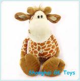 Het gevulde Stuk speelgoed van de Jonge geitjes van het Stuk speelgoed van de Pluche van de Giraf