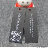 Étiquettes de papier de découpage personnalisées de coup de carton pour le vêtement