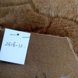 Fabbricato lungo della peluche del fabbricato della pelliccia del Faux spazzolato poliestere all'ingrosso