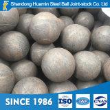 Bolas de pulido de acero forjadas para la explotación minera y el molino de bola