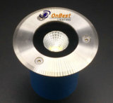 Indicatore luminoso sotterraneo esterno della PANNOCCHIA LED dell'indicatore luminoso 5W in IP67