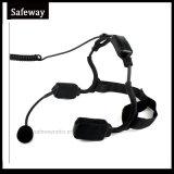 Écouteur militaire de conduction osseuse pour le talkie-walkie de Hytera