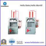 Papiers de rebut verticaux hydrauliques de Comressing de presse de doubles cylindres, cartons