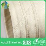 Sacchetti filtro del collettore di polveri del poliestere per la pianta del cemento