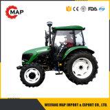 80HP 4WD EPAエンジンのHydrauliの新しい農場トラクターの農機具