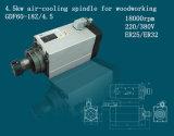 Eje de rotación de trabajo de madera del eje de rotación 4.5kw del aire para la máquina del CNC (GDF60-18Z/4.5)