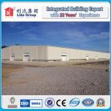 Magazzino prefabbricato chiaro della struttura d'acciaio di alta qualità in Cina