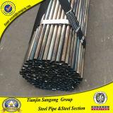 tubo de acero redondo destemplado negro de 50m m Stuctural