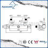 Robinet thermostatique chromé Anti-Scald de salle de bains en laiton (AF4120-7)