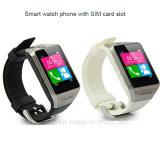 Bluetooth del teléfono del reloj inteligente con la tarjeta SIM y la alarma Anti-Perdida (GV08)