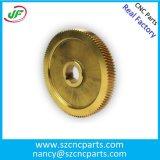 CNCのステンレス鋼の黄銅アルミニウムが付いている機械化の部品CNCの製粉の回転部品