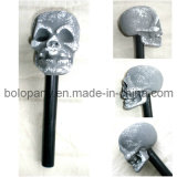 Paz23102 Halloween Skull Plastic Party Micphone