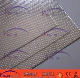 (KL1006) Folha de batedor de asbesto com metal de rosto duplo