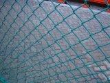 Ячеистая сеть загородки сетки звена цепи ячеистой сети оцинкованной стали
