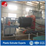 Pipe en plastique de tube de cavité de pipe de HDPE faisant la ligne de production à la machine