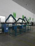 Industrielle Dampf-Zange mit dem Abgas-Staub-Arm für Schweißen
