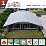 шатер Arcum пяди ясности ширины 15m используемый как центр случая главным образом для свадебного банкета