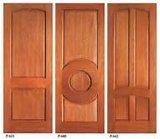 高品質の材木の固体木のドア