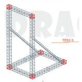 Алюминиевая ферменная конструкция для вися экрана (TP02-3)