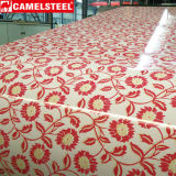 Blumen-Muster-Entwurfs-Farben-Stahlblech-Beschichtung-Stahlring