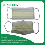 Medical Hospital를 위한 Earloop를 가진 처분할 수 있는 Nonwoven 3ply Face Mask