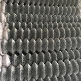 Frontière de sécurité galvanisée de maillon de chaîne en stock