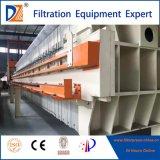 Prensa de filtro Rápida-Openning de membrana con la bandeja del goteo para la desecación del lodo