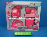 Het hete Stuk speelgoed van het Ijzer van BO van de Verkoop Plastic. De elektro Reeks van het Huis (711814)