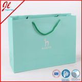 Зеленые выдвиженческие бумажные мешки для покупкы, подарки, выдвиженческая еда
