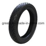 Neumático sin tubo 80/90-17 de la motocicleta