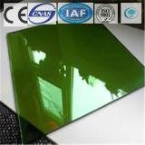 Galleggiante tinto/libero verde scuro/ha temperato il vetro riflettente