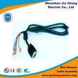 Chicote de fios de fiação do conjunto de cabo do aparelho electrodoméstico que frisa para o farol interno
