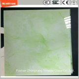 l'impression de Silkscreen de peinture de 4-19mm Digitals/gravure à l'eau forte acide/se sont givrés/plat de configuration/ont déplié Tempered/verre trempé pour la décoration/mur/étage/partition avec SGCC/Ce&CCC&ISO