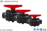 Precio competitivo para las vávulas de bola plásticas de la unión