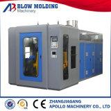 Máquina automática de Molidng del soplo de la protuberancia del HDPE doble de la estación