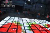유행 LED 댄스 플로워, 방수 댄스 플로워, 영상 바닥 패널