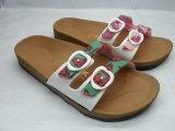 Sandali delle donne di stampa del TPE /Pcu/PVC /Jerry/pistoni (24ja1601)