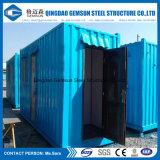 Fabbrica d'acciaio cinese imballata piana della Camera del contenitore di programma del libro macchina della cabina di basso costo della Cina