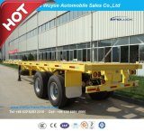 40 Oplegger van het Platform van ' 2 As Flatbed Hoge of Flatbed Semi Aanhangwagen van de Vrachtwagen