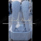 Memorial memorável Mem-286 de Metrix Carrara do granito memorável de pedra memorável de mármore