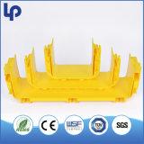Duto plástico do canal adutor da fibra do perfil do PVC do ABS de Retardent da flama de UL94-Vo