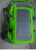 6.6W Solar Mobile Charger Bag Mochila Sunpower Cells com Certificação TUV