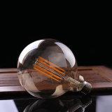 포도 수확 LED 긴 필라멘트 전구 금 담채 Edison 지구 작풍