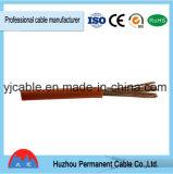 Cabo de cobre de borracha da soldadura do PVC dos padrões IEC60245 das especificações do cabo da soldadura do cabo da soldadura de H07rn-F