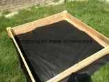中国によって編まれる黒い雑草防除のマット