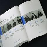 Impresión del libro de la tarjeta de la impresión en offset