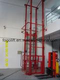 levage hydraulique de cargaison de la verticale 10m stationnaire